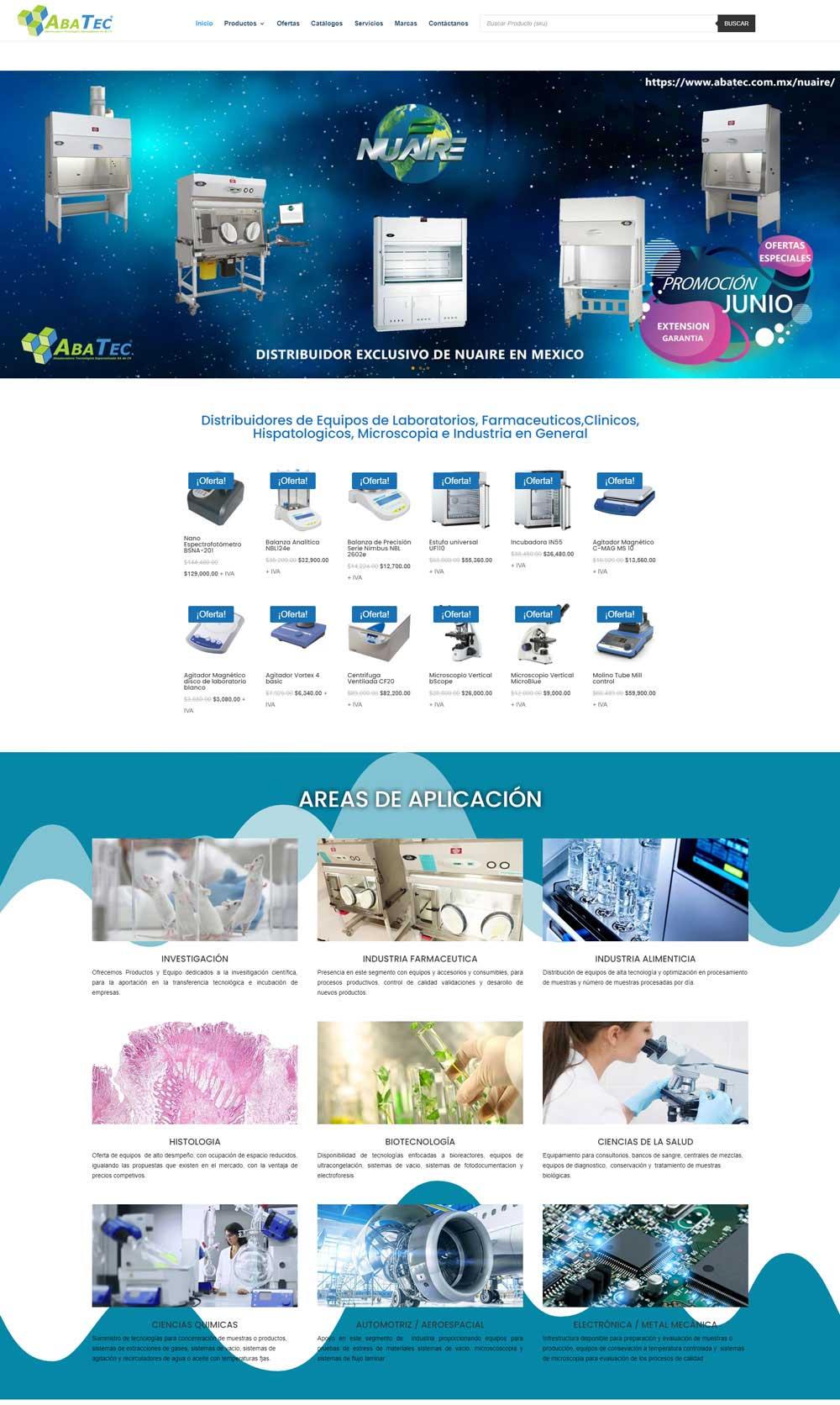 uxweb diseño catalogo onlile